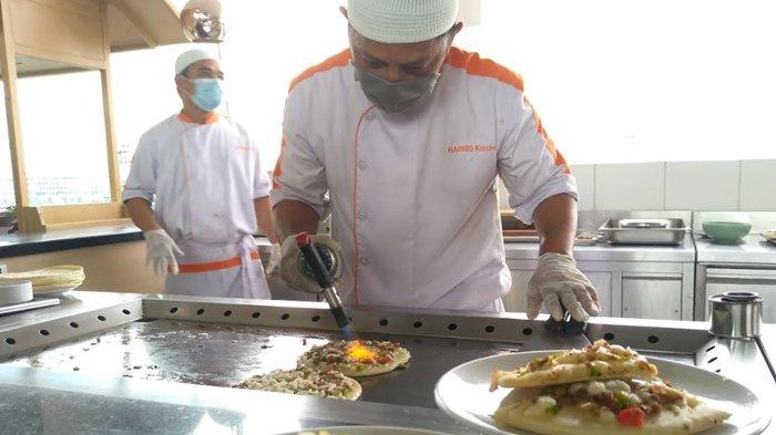 Berbuka dengan Pizza Timur Tengah, Menu Spesial Ramadan di Hotel Harris Gubeng