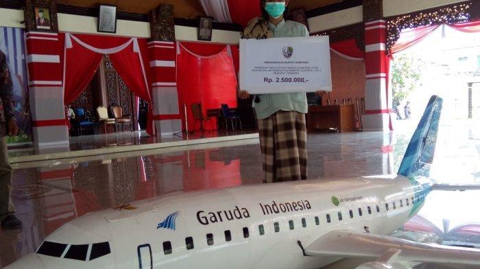 Pesawat Garuda Buatan Warga Madura Ini Sanggup Terbang Jauh Kini Banjir Pesanan