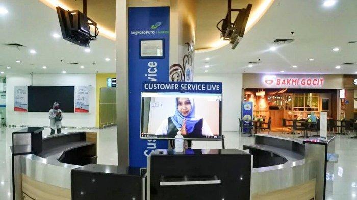 Bandara Juanda Terapkan Customer Service Live di Terminal 1 dan 2 Layanan Tanpa Bertemu Fisik