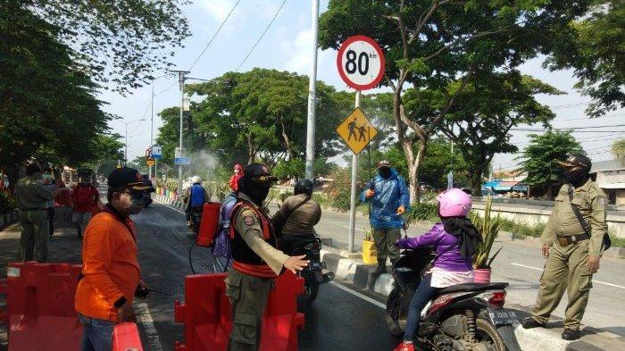 Petugas Siaga di 19 Pintu Masuk Kota Surabaya, Imbau Yang Tidak Berkepentingan Tidak Masuk Kota