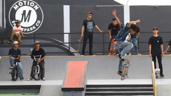 Apocalypse Park, Tongkrongan Dan Jujugan Para Skater Eksplorasi Trik di Trek Menantang