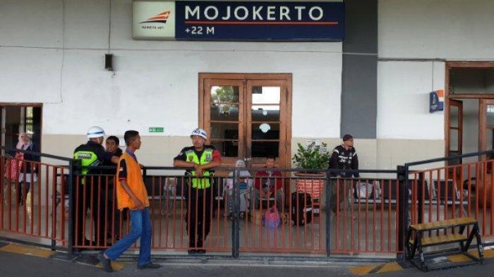 Di Stasiun Mojokerto Jumlah Penumpang Kereta Api Turun Drastis Hingga 50 persen