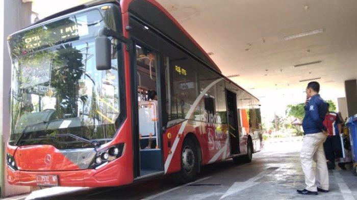 Selama PPKM Level 4 Penumpang Suroboyo Bus Turun Drastis