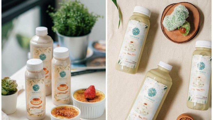 Segar Menyehatkan Buka Puasa Dengan Susu Almond Panggang Rasa Klepon dan Creme Brulee