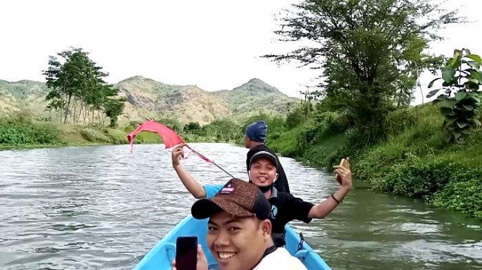 Wisata Susur Sungai Junjung Tulungagung, Melintas Situs Cagar Budaya Goa Pasir Hingga Candi Dadi