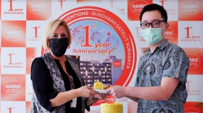 HUT ke-1 HARRIS Hotel & Conventions Bundaran Satelit, Ulasan Positif Trip Advisor Jadi Kado Manis