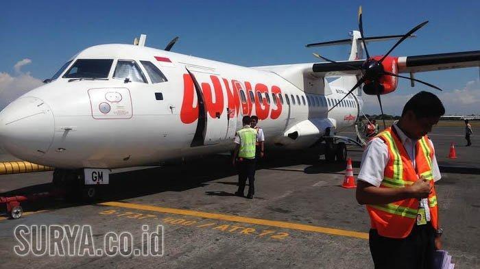 Sempat Mati Suri Karena Pandemi, Rute Penerbangan Surabaya-Sumenep Kembali Dilayani Wings Air