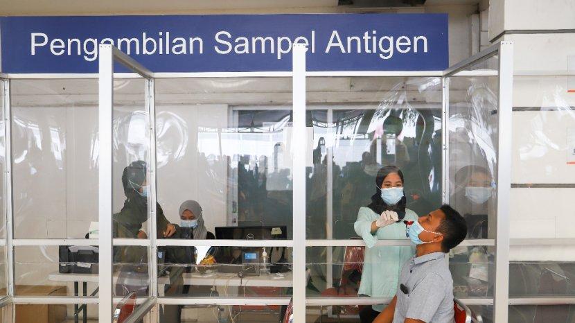 PT KAI Turunkan Harga Rapid Test Antigen Di Seluruh Stasiun Dari Rp 85.000 Jadi Rp 45.000