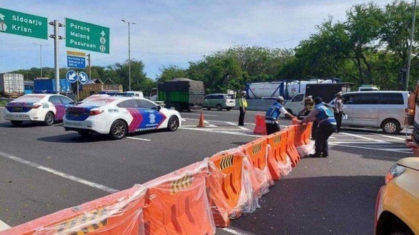 PPKM Darurat Akses Pintu Keluar Tol Sidoarjo I, Lawang Pakis Dan Kedungkandang Di Tutup 24 Jam