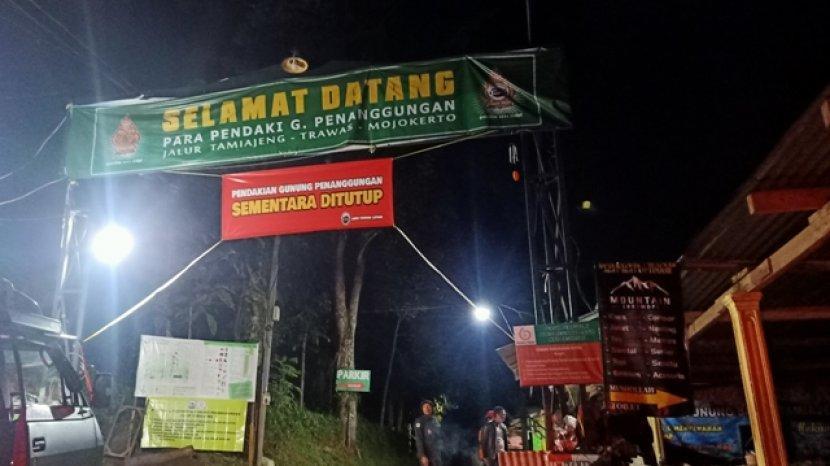Pendaki Gunung Harus Bersabar  Jalur Pendakian Gunung Penanggungan  Mojokerto Masih Ditutup