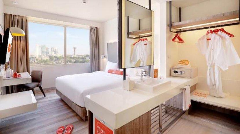 Jenuh PPKM Di Rumah Harris Hotel Bundaran Satelit Beri Pilihan Staycation Mulai Rp 414.400