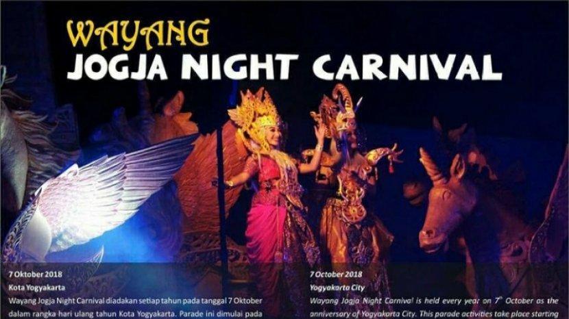 Monalisa Dan Kamelia Jurus Bangkitkan Pariwisata Yogyakarta, Gelar Wayang Jogja Night Carnival