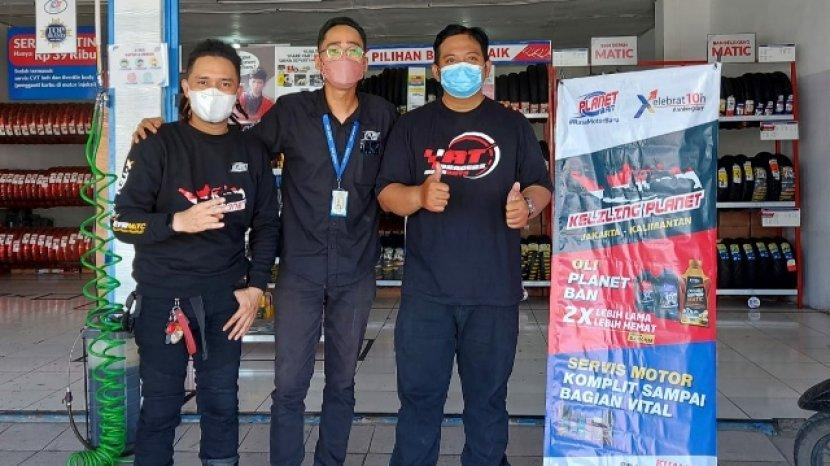 "10 Rider Tangguh Susuri Pulau Jawa Dan Kalimantan Dalam ""Keliling Planet Jilid 2"""