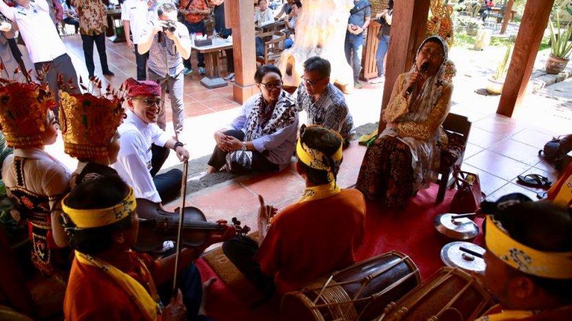 Desa Wisata Kemiren Dan Tamansari Banyuwangi Tembus 100 Besar Nasional Ajang ADWI 2021