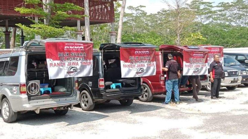 Suguhan Nasi Boran Khas Lamongan Jadi Penyemangat Pilkorlap KMK Jatim
