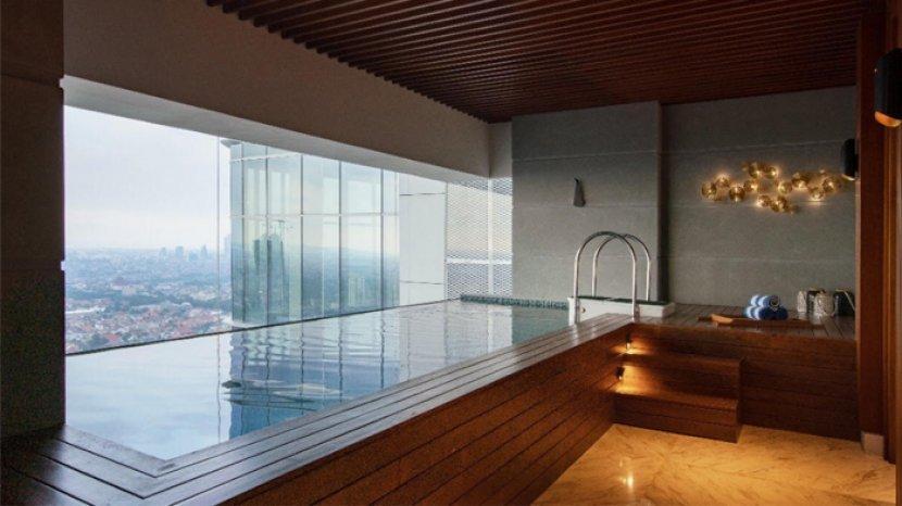 Staycation di Presidential Suite Vasa Hotel Surabaya, Ada Pantry sampai Private Pool