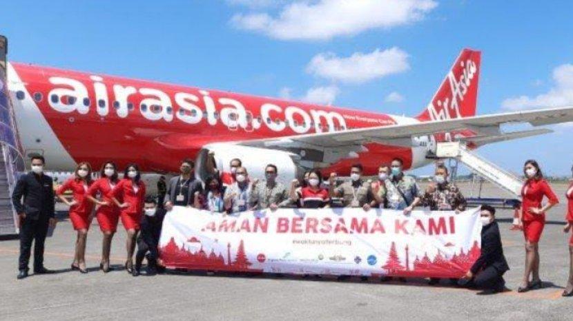 Tarif Hemat Lima Rute Baru AirAsia Indonesia Mulai Desember 2020, Cek Jadwal dan Harga Tiketnya