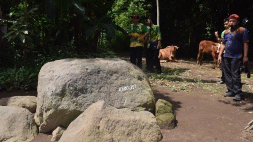 Khusus Untuk Guru dan Murid Sekolah, Kini Ada Rute Pendek di Situs Megalitikum Maskuning Kulon
