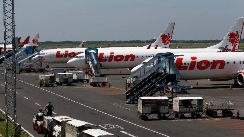 Lion Air Grup Berhentikan Sementara Layanan Penerbangan Sosialisasi Aturan Naik Pesawat