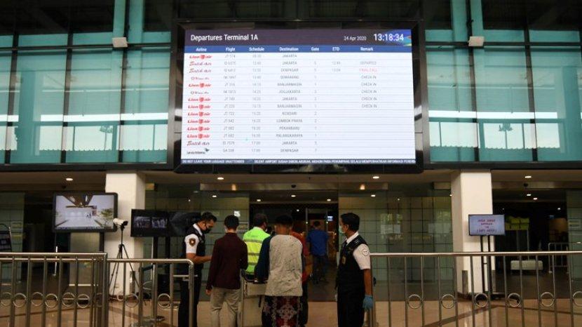 15 Bandara Sediakan Vaksinasi Covid-19 , Bandara Juanda Surabaya Di Lobby Terminal 1