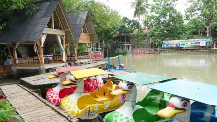 Warga Desa di Banyuwangi Sulap Sungai Kotor Jadi Wisata Waduk Lecari