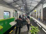 Imbas Sejumlah Wilayah Di Jatim Zona Kuning Perjalanan KA Lokal Mulai Ramai Penumpang