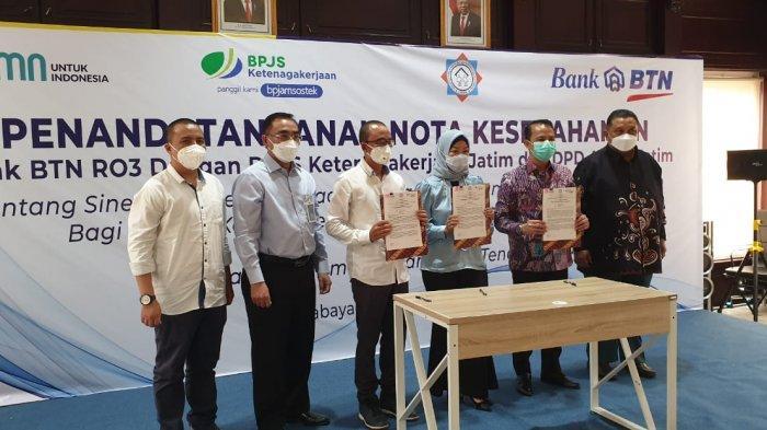 APERSI Jatim Jamin Kesejahteraan Anggota Lewat Kerjasama Dengan BTN dan BPJS Ketenagakerjaan