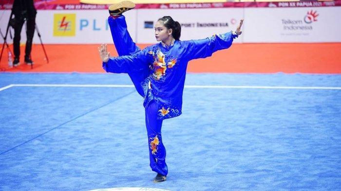 Alisya Mellynar, Mahasiswa Unair Peraih Medali Emas Wushu Pada PON XX Papua 2021