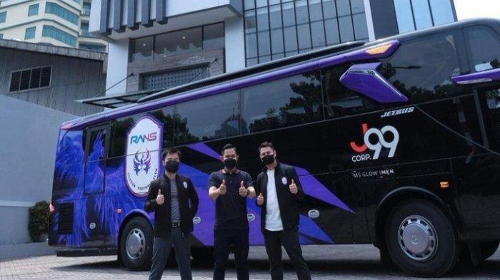 J99 Corp Berikan Bus Untuk RANS Cilegon FC, Ini Keunggulannya