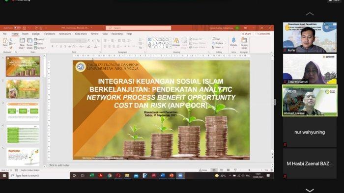Lima Dosen Fakultas Ekonomi dan Bisnis Unair Teliti Integrasi Keuangan Sosial Islam Berkelanjutan
