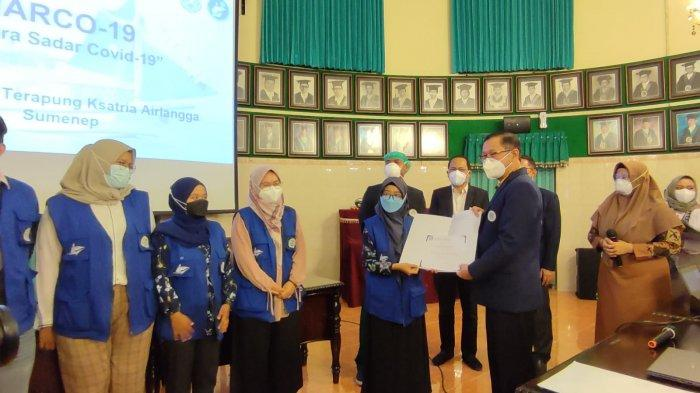 Dokter Baru Lulusan FK Unair Tuntaskan Misi Marco-19 Bersama Rumah Sakit Terapung Ksatria Airlangga
