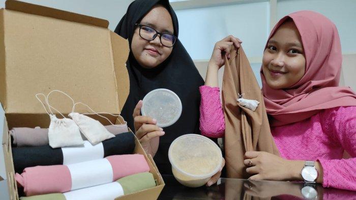 Mahasiswa Unusa Ciptakan Hijab Dengan Kantong Aromatik