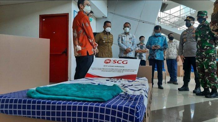 Isolasi Terpusat Stadion Gelora Joko Samudro Gresik Terima Tempat TidurTambahan