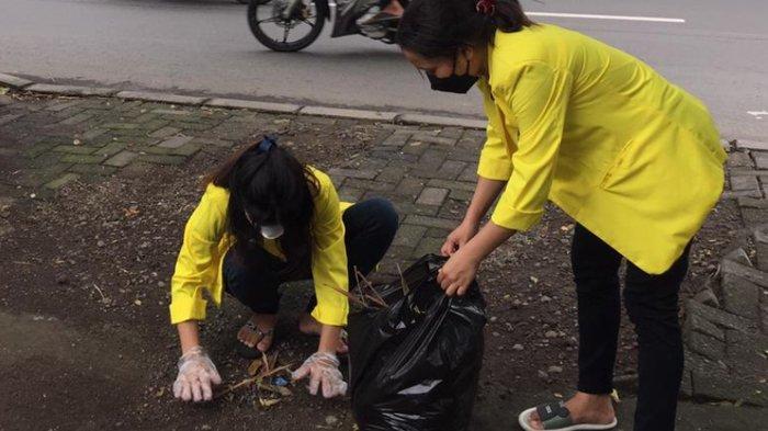 Mahasiswa Dukung Wujudkan Lingkungan Sehat di Kampung Deles
