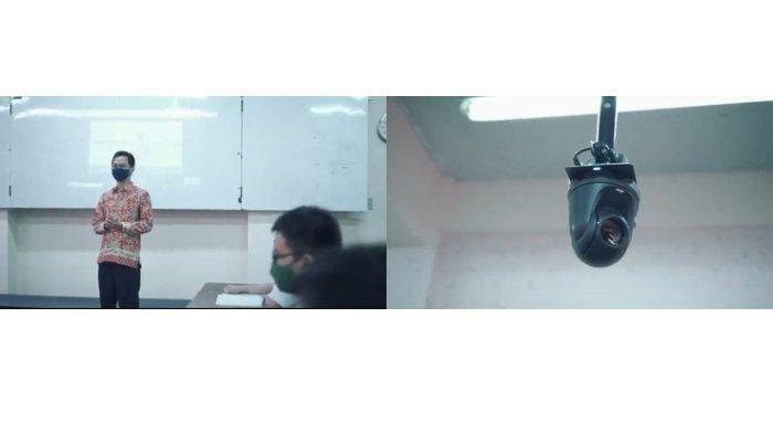 Pembelajaran Hybrid SMPTag Manfaatkan Kamera Tracking