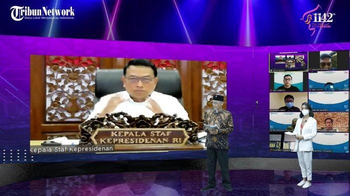 Kepala Staf Kepresidenan Moeldoko Puji Program Buatan Pemkot Kediri