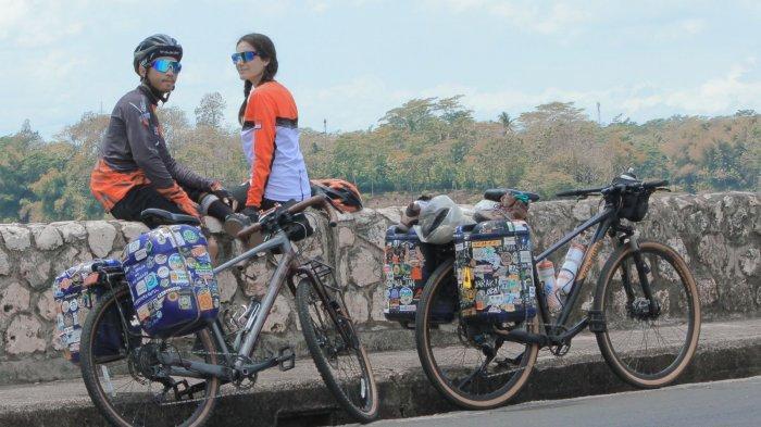 Cara Maia Lan dan Rafli Tularkan Gaya Hidup Zero Waste Sambil Keliling Indonesia Naik Sepeda