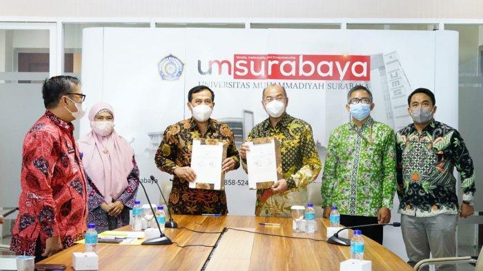 Wujudkan Merdeka Belajar-Kampus Merdeka, FH UMSurabaya Jalin Link and Match Dengan Ombudsman RI