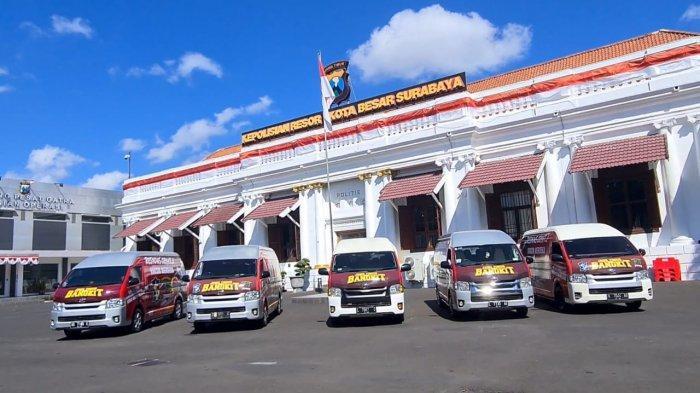 Pemkot Surabaya dan Polrestabes Surabaya Siagakan 22 Mobil Vaksin Keliling