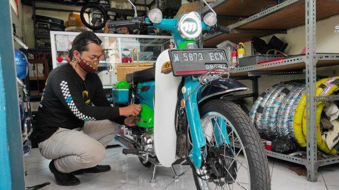 Nanang Syaiful Rahman, Warga Malah Yang Berhasil Rakit Sepeda Listrik Gaya Retro