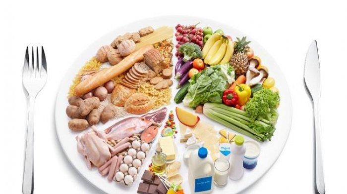 Orang yang Sehat Cukup Konsumsi Makanan Bergizi Seimbang