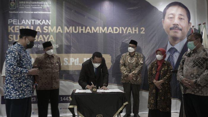Astajab Kembali Jabat Kepala SMA Muhammadiyah 2 Surabaya
