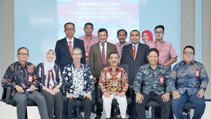 Prof Dr Mulyanto Nugroho MM CMA CPA Terpilih Menjadi Rektor Untag Surabaya Dua Periode