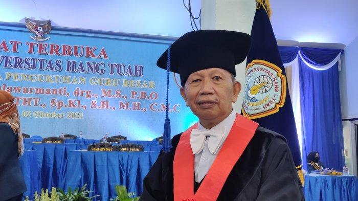 Prof Dr dr Sutarno SpTHT SpKl SH MH CMC Soroti Undang-undang Bidang Kesehatan