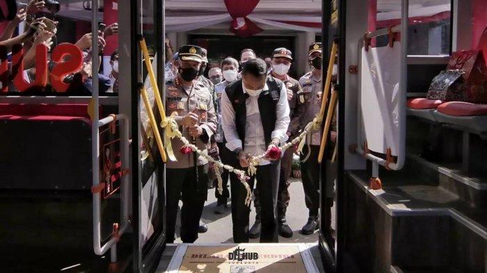 Pemkot Surabaya Tambah 8 Unit Suroboyo Bus Untuk Trayek Baru