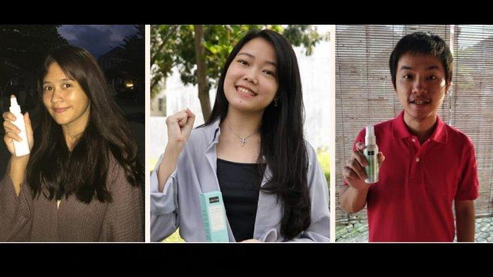 Tiga Mahasiswa Binus Malang Kembangkam Usaha Face Mist Zavennie