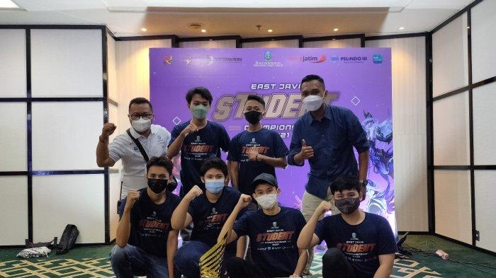 Tim SMAN 2 Lumajang Juara East Java Student Championship Cabang Game Mobile Legend