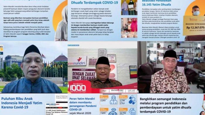 Yatim Mandiri Siap Bantu Pendidikan Yatim Dhuafa Baru Akibat Pandemi Covid 19