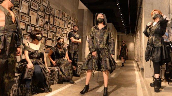Hari Pahlawan, Desainer Elizabeth Njo Luncurkan APD Kamuflase bertajuk 'Perjuangan Masa Kini'