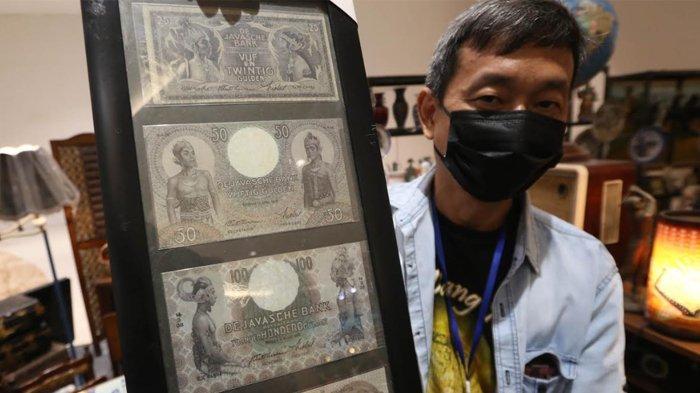 Uang Kuno Seri Wayang Dihargai 1,5 M di Pameran Soerabaia Vintage: Festival Hobikoe